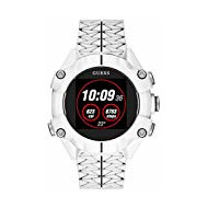 Guess Watches Gents Connect Montre Unisex Digital avec Bracelet Silicone C3001G4